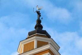 Tuppen på Munsala kyrka
