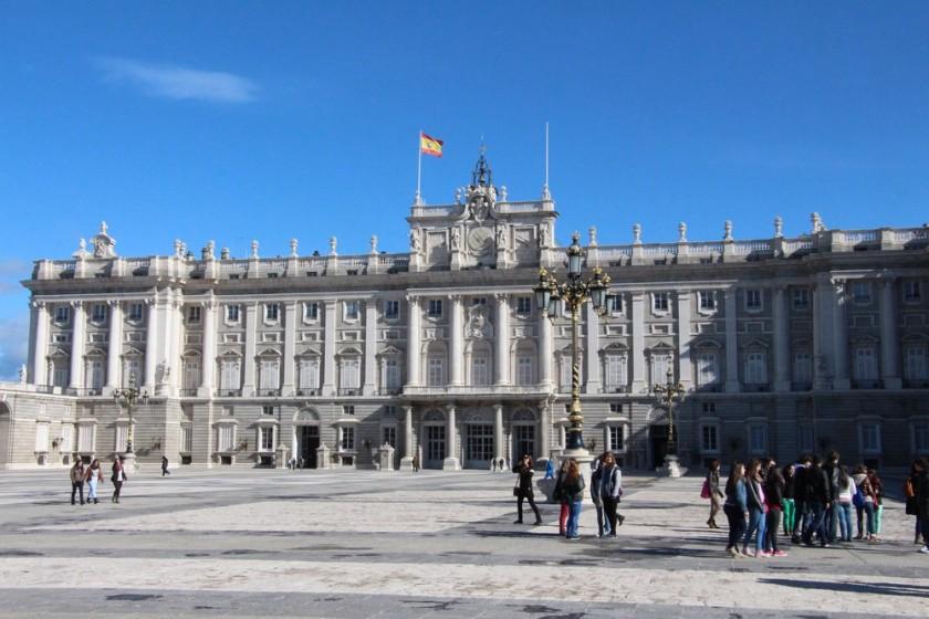 slottet i madrid