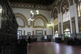 Fin gammal tågstation i Toledo. Inte alls mycket större än den i provinshuvudstaden.