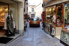 En vanlig gata i Toledo