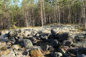 Kullerstenar på Getberget