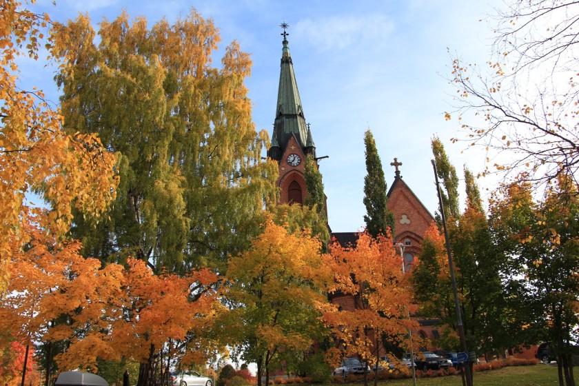 kyrkan i Umeå