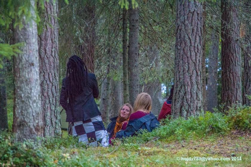 i skogen urkult