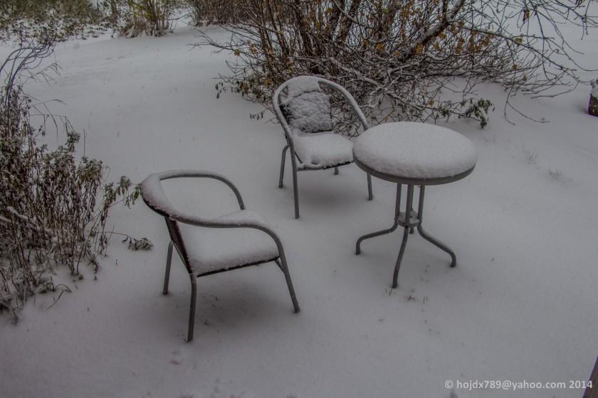 första snön 2014