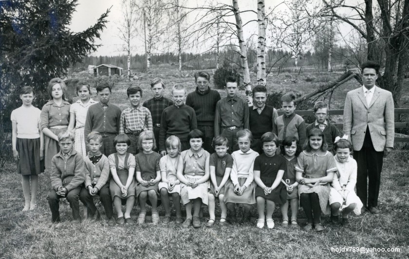 skolfoto 1961