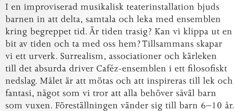 urkult program 2015 med Caféz