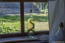 En orm i sprit i hos kloka gumman Anja Sjöholm